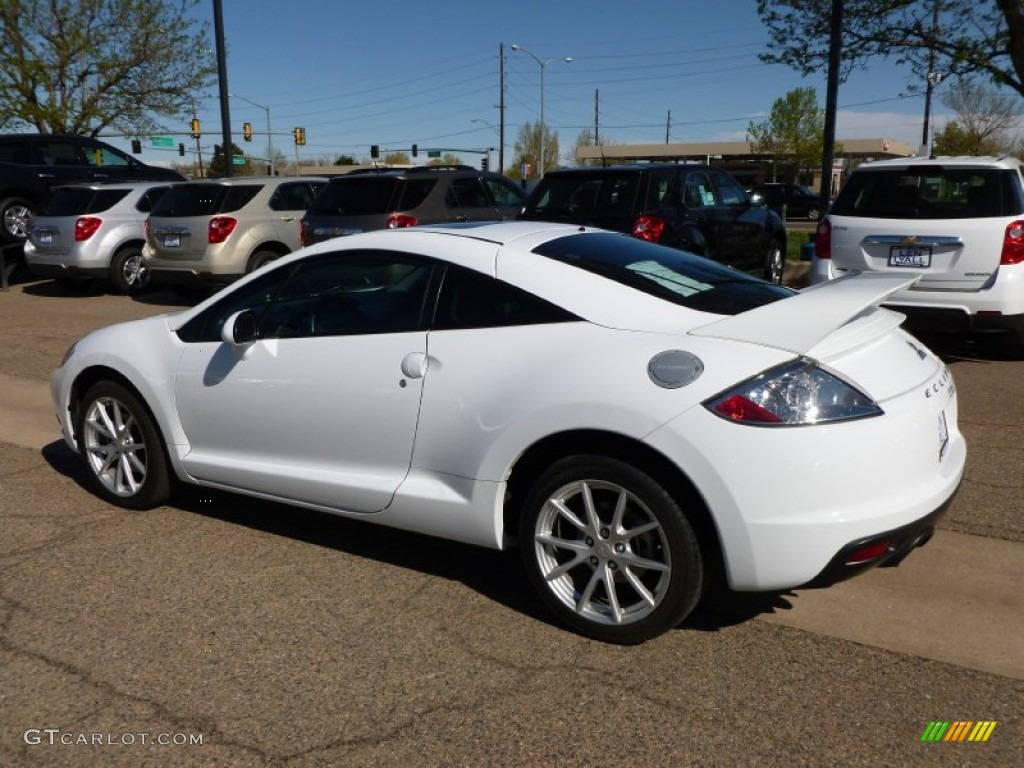 2009 northstar white satin mitsubishi eclipse gt coupe #63848248