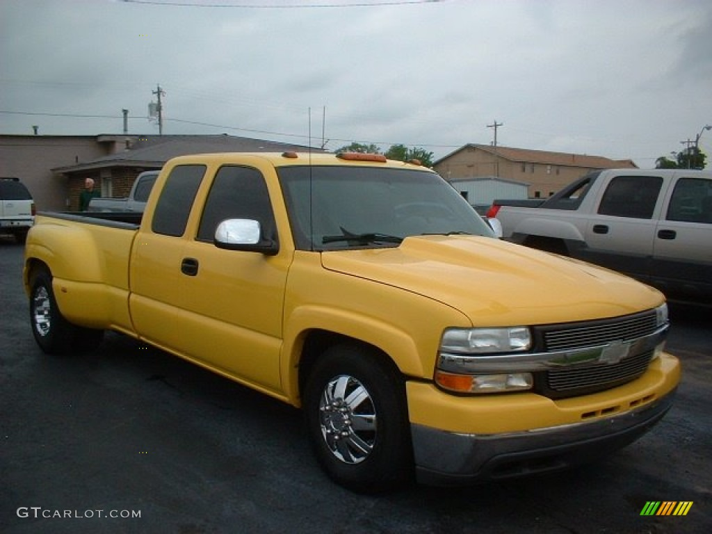wheatland yellow 2002 chevrolet silverado 3500 lt extended cab dually exterior photo 63856866. Black Bedroom Furniture Sets. Home Design Ideas