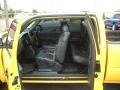 Graphite 2002 Chevrolet Silverado 3500 LT Extended Cab Dually Interior Color
