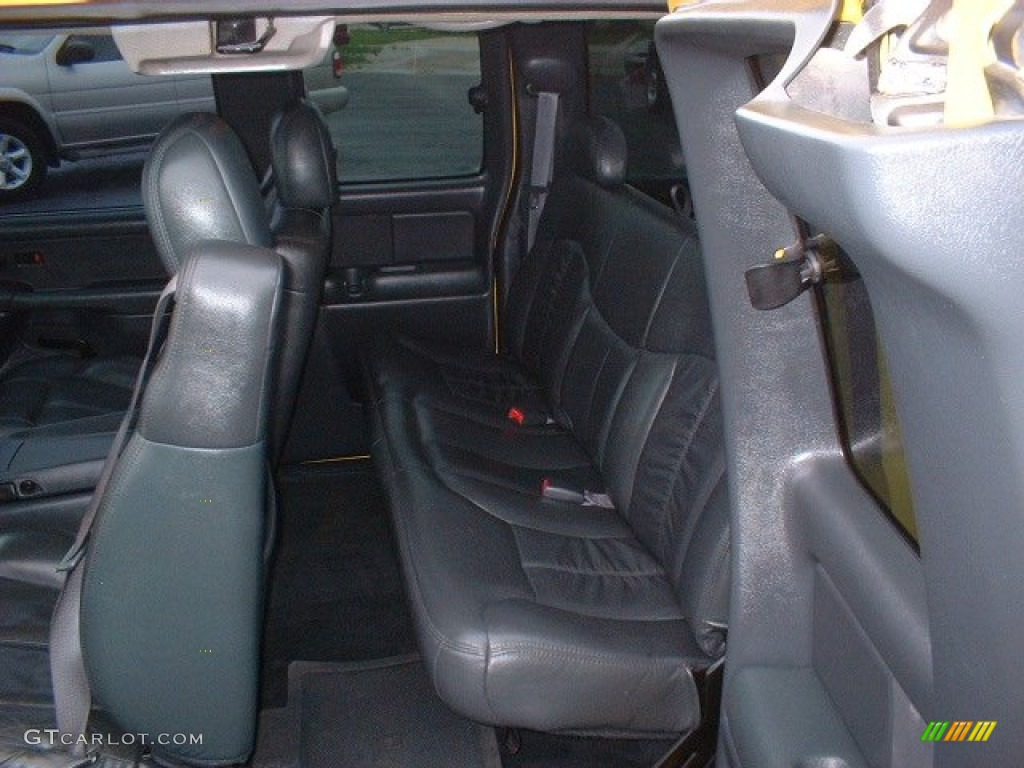 2002 Chevrolet Silverado 3500 LT Extended Cab Dually Interior Color Photos