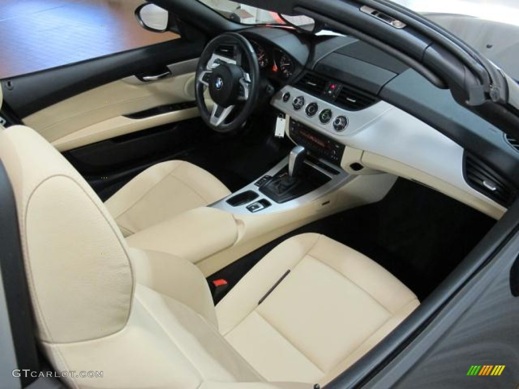 Ivory White Interior 2010 Bmw Z4 Sdrive30i Roadster Photo