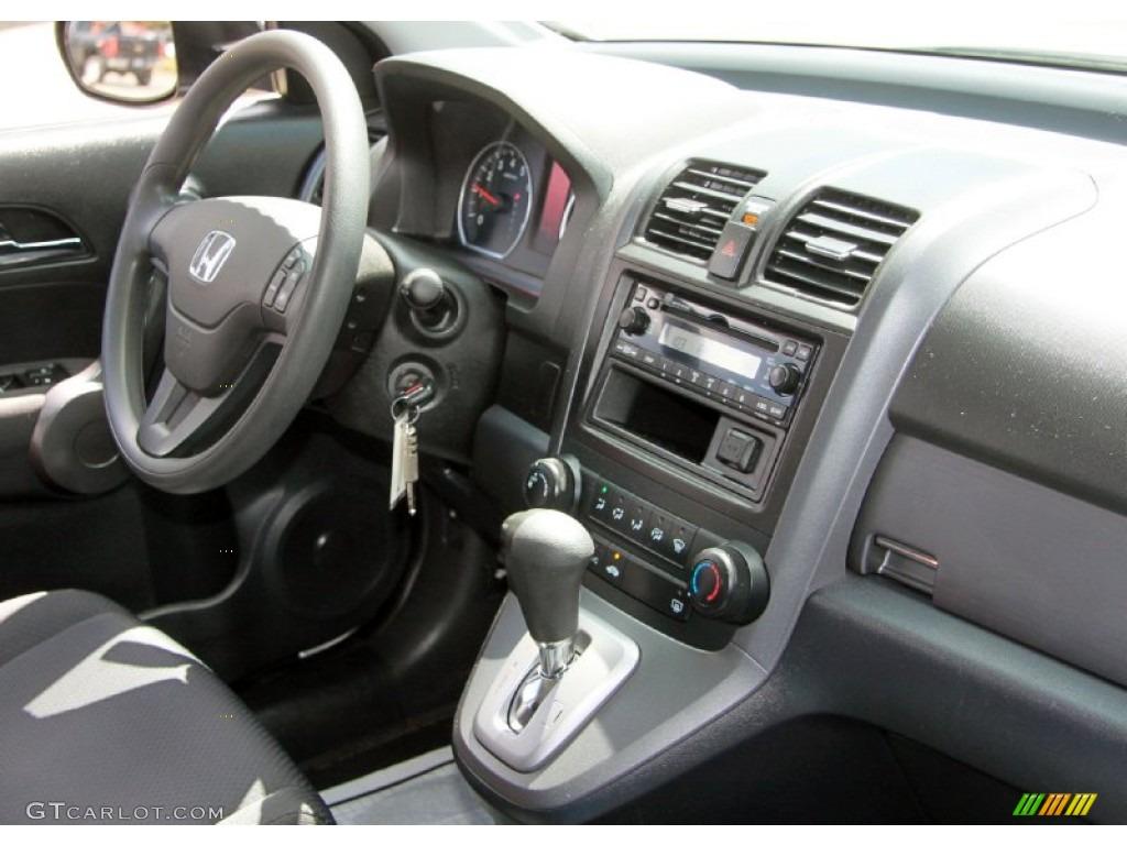2009 CR-V LX 4WD - Alabaster Silver Metallic / Black photo #5