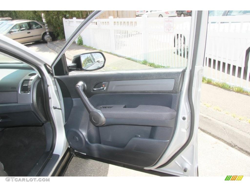 2009 CR-V LX 4WD - Alabaster Silver Metallic / Black photo #18