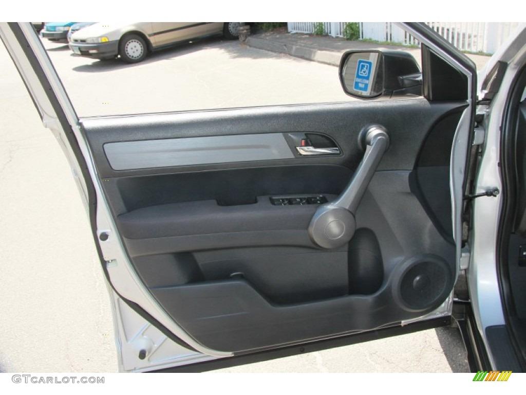 2009 CR-V LX 4WD - Alabaster Silver Metallic / Black photo #20