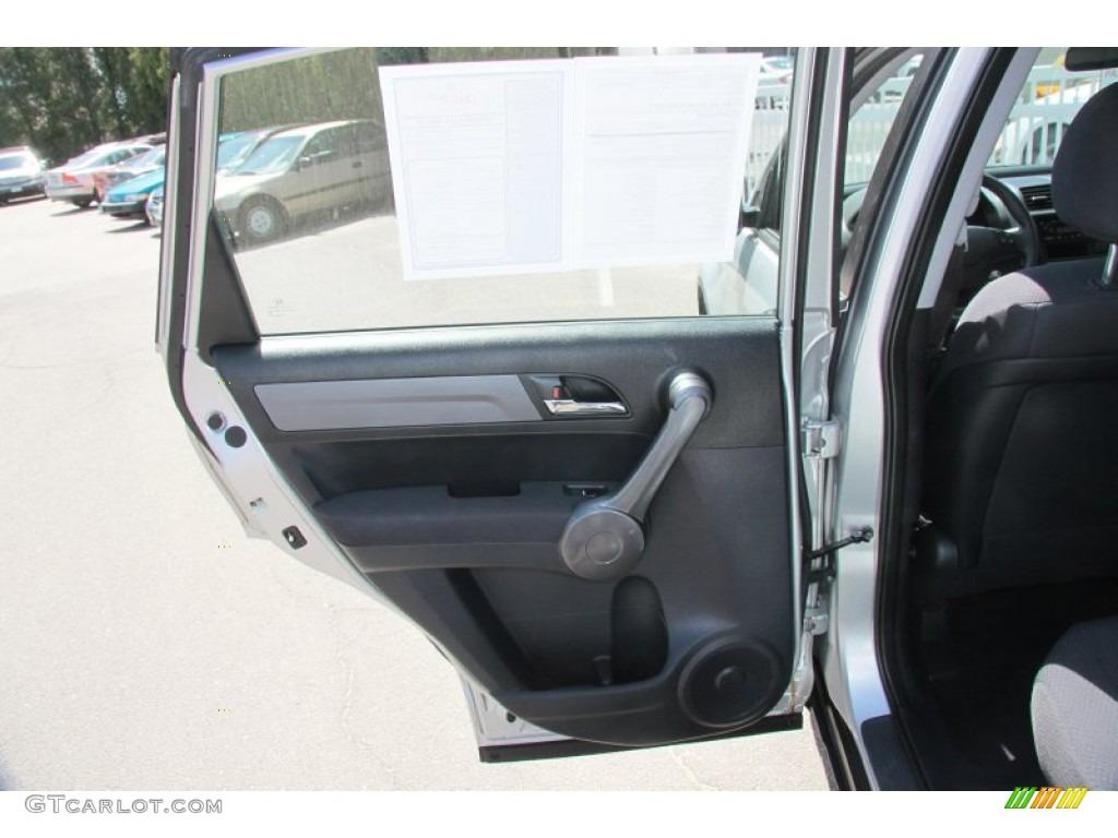 2009 CR-V LX 4WD - Alabaster Silver Metallic / Black photo #21