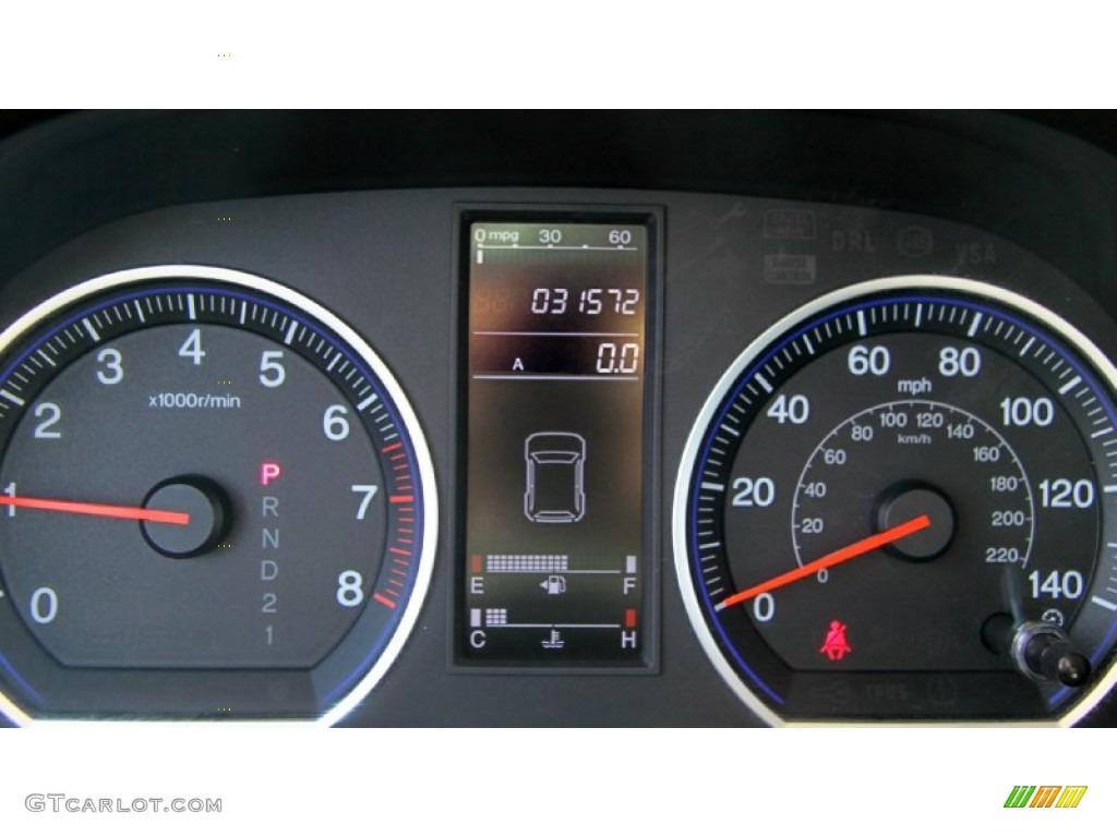 2009 CR-V LX 4WD - Alabaster Silver Metallic / Black photo #24