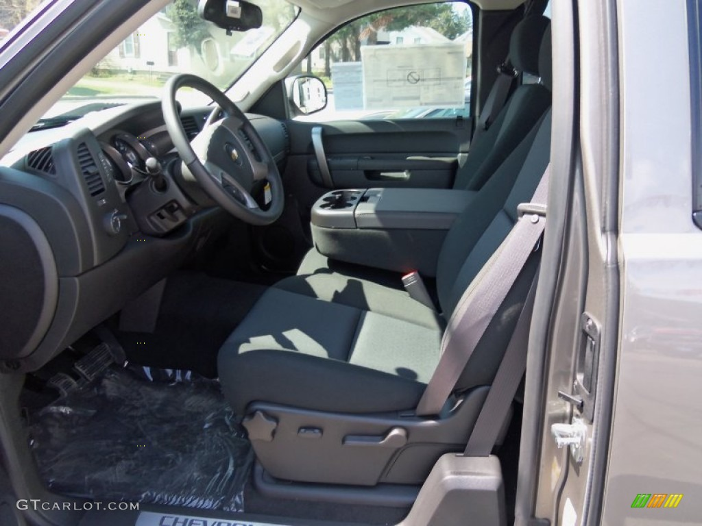 2012 Silverado 1500 LT Extended Cab 4x4 - Graystone Metallic / Ebony photo #16