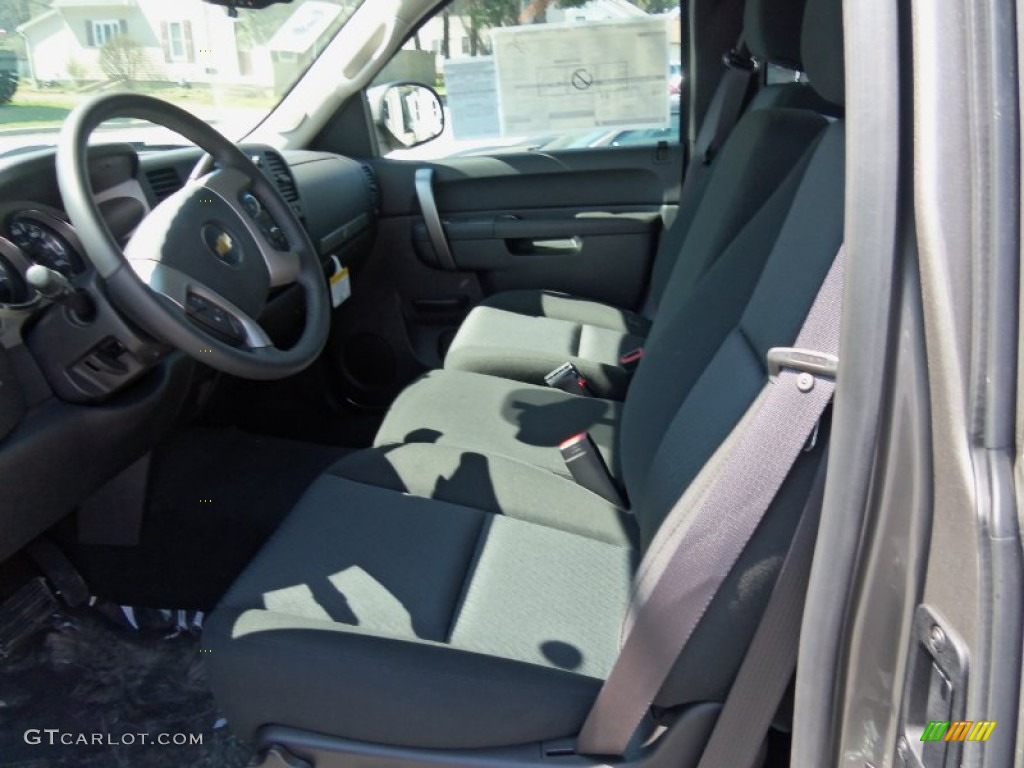 2012 Silverado 1500 LT Extended Cab 4x4 - Graystone Metallic / Ebony photo #17