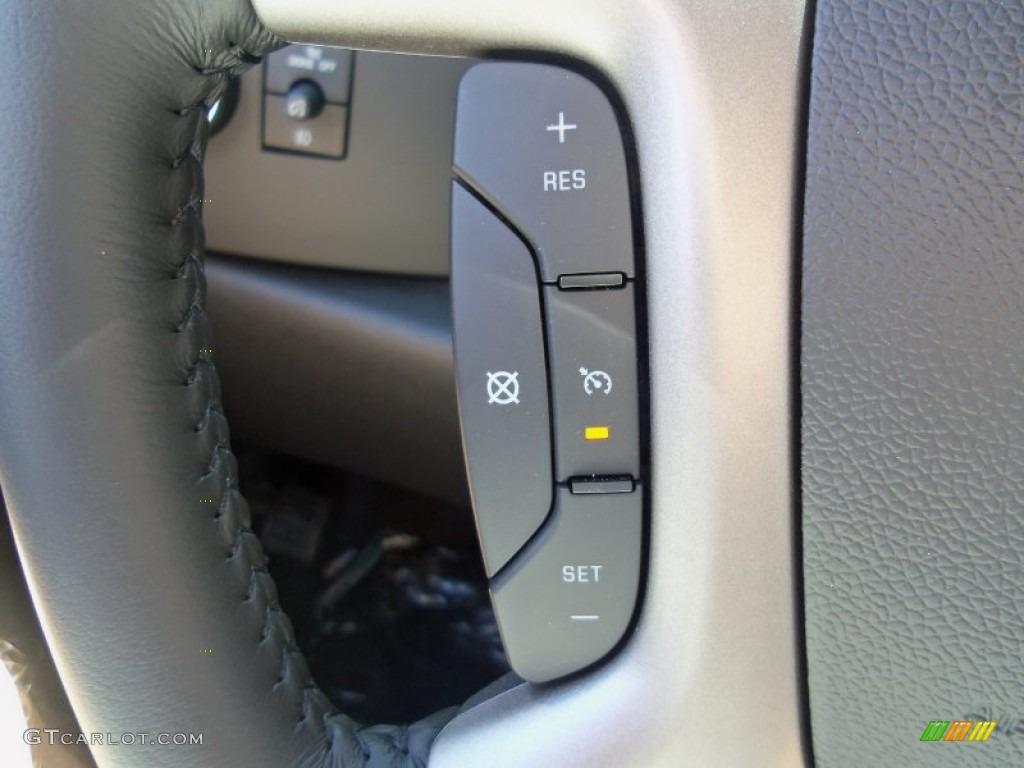2012 Silverado 1500 LT Extended Cab 4x4 - Graystone Metallic / Ebony photo #26