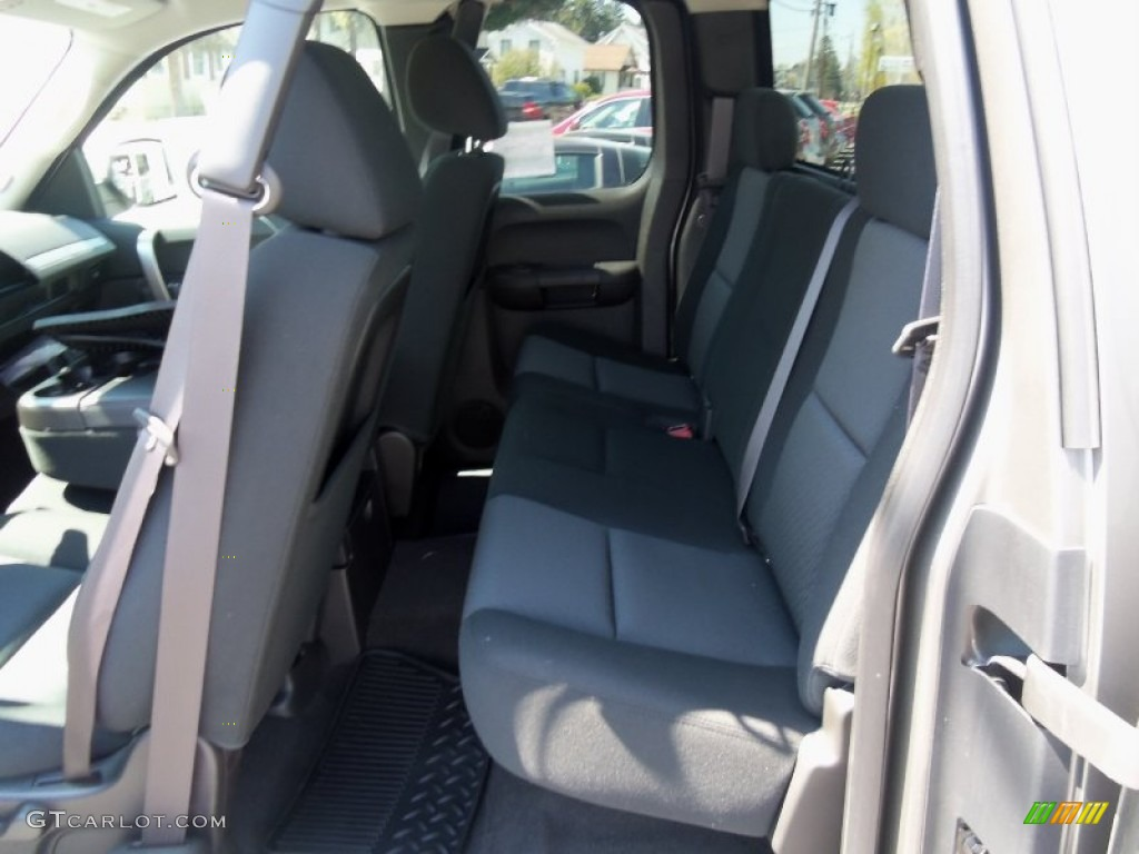 2012 Silverado 1500 LT Extended Cab 4x4 - Graystone Metallic / Ebony photo #34