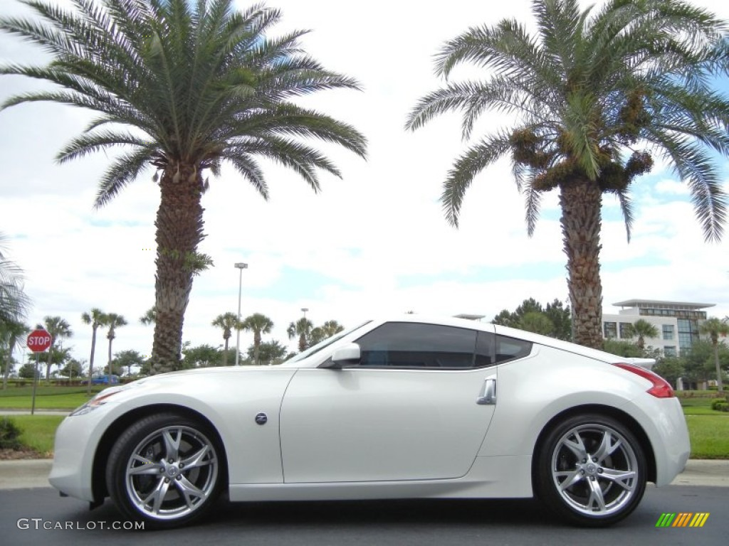 pearl white 2012 nissan 370z sport coupe exterior photo #63892090