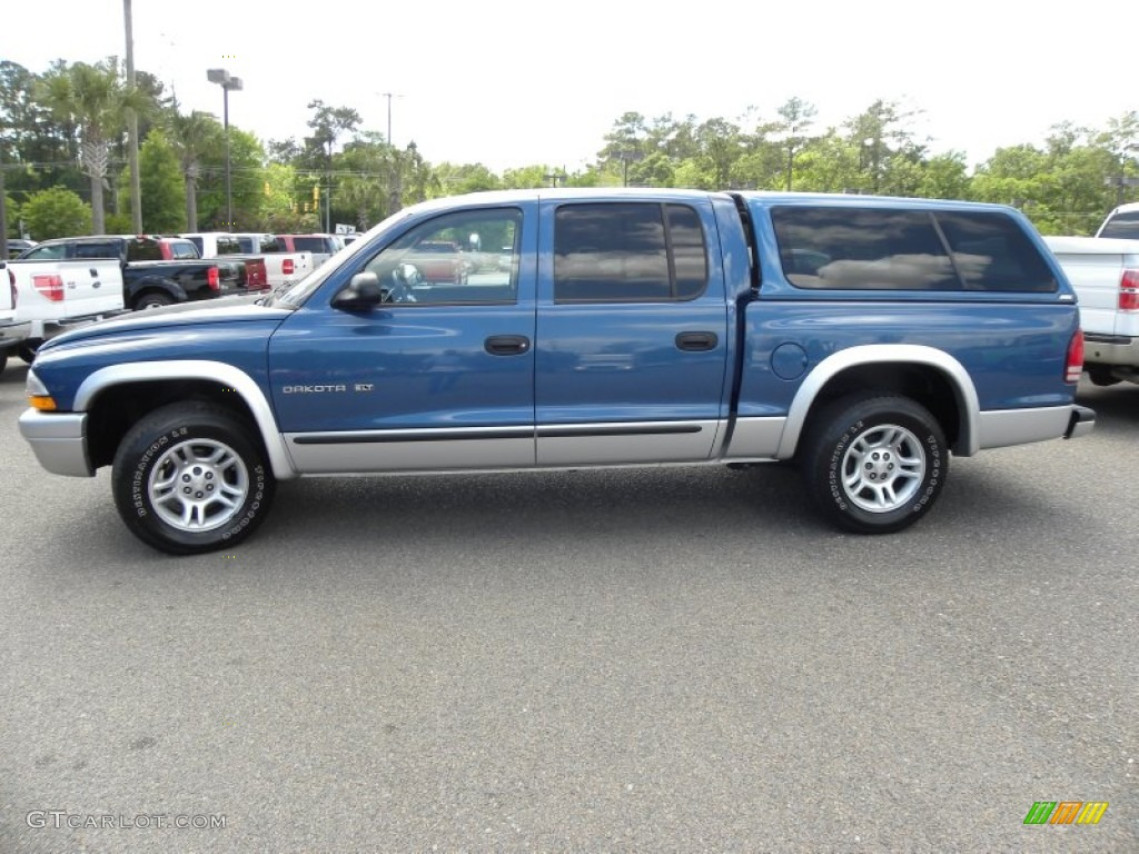on 1999 Dodge Dakota Blue
