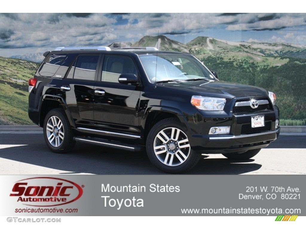 Black Toyota 4Runner. Toyota 4Runner Limited 4x4