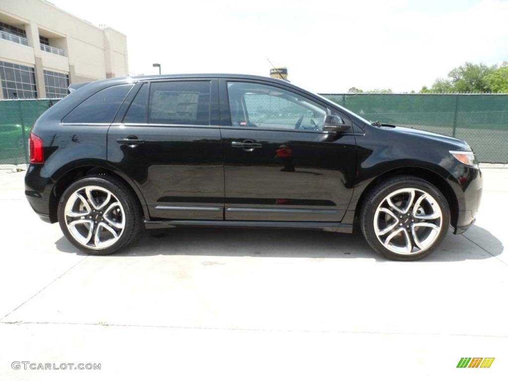 tuxedo black metallic 2012 ford edge sport awd exterior. Black Bedroom Furniture Sets. Home Design Ideas