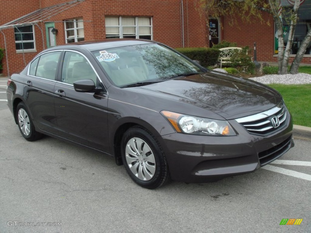 2011 Dark Amber Metallic Honda Accord Lx Sedan 63871322