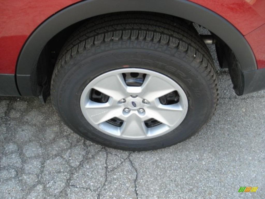 2013 Ford Explorer 4WD Wheel Photos