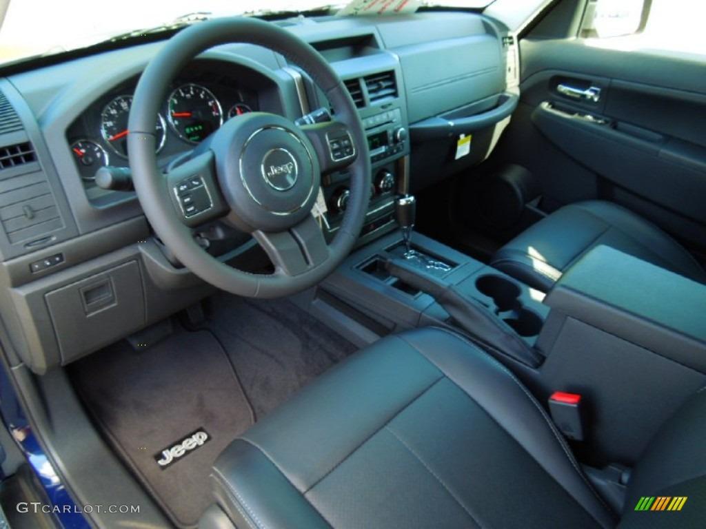 dark slate gray interior 2012 jeep liberty latitude photo. Black Bedroom Furniture Sets. Home Design Ideas