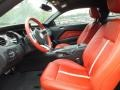 2011 Ford Mustang Brick Red/Cashmere Interior Interior Photo