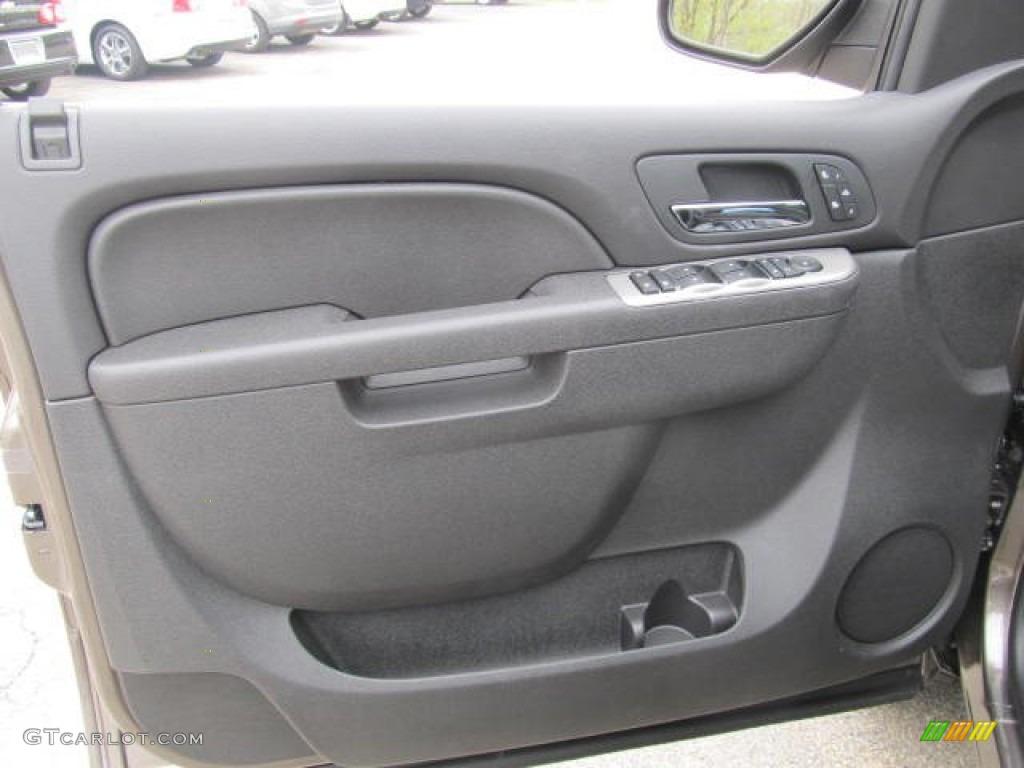 2012 Silverado 1500 LTZ Extended Cab 4x4 - Mocha Steel Metallic / Light Titanium/Dark Titanium photo #7