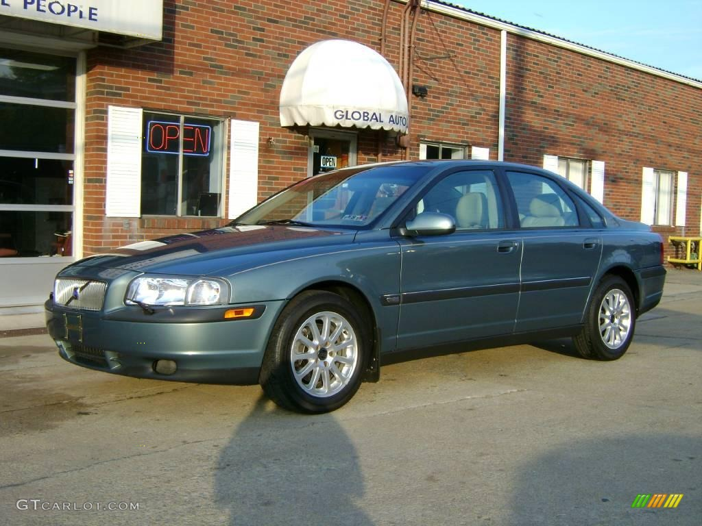 2002 platinum green metallic volvo s80 2 9 6388186. Black Bedroom Furniture Sets. Home Design Ideas