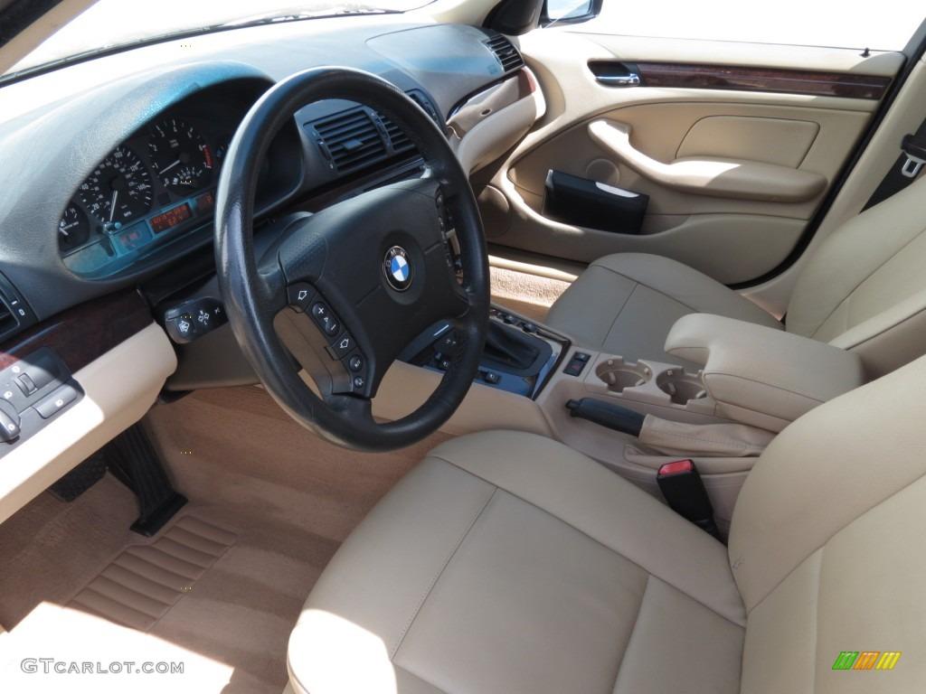 Beige Interior 2003 Bmw 3 Series 325i Wagon Photo