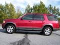 2003 Redfire Metallic Ford Explorer XLT  photo #12