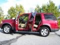 2003 Redfire Metallic Ford Explorer XLT  photo #14