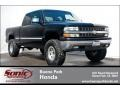 2002 Onyx Black Chevrolet Silverado 1500 LS Extended Cab  photo #1
