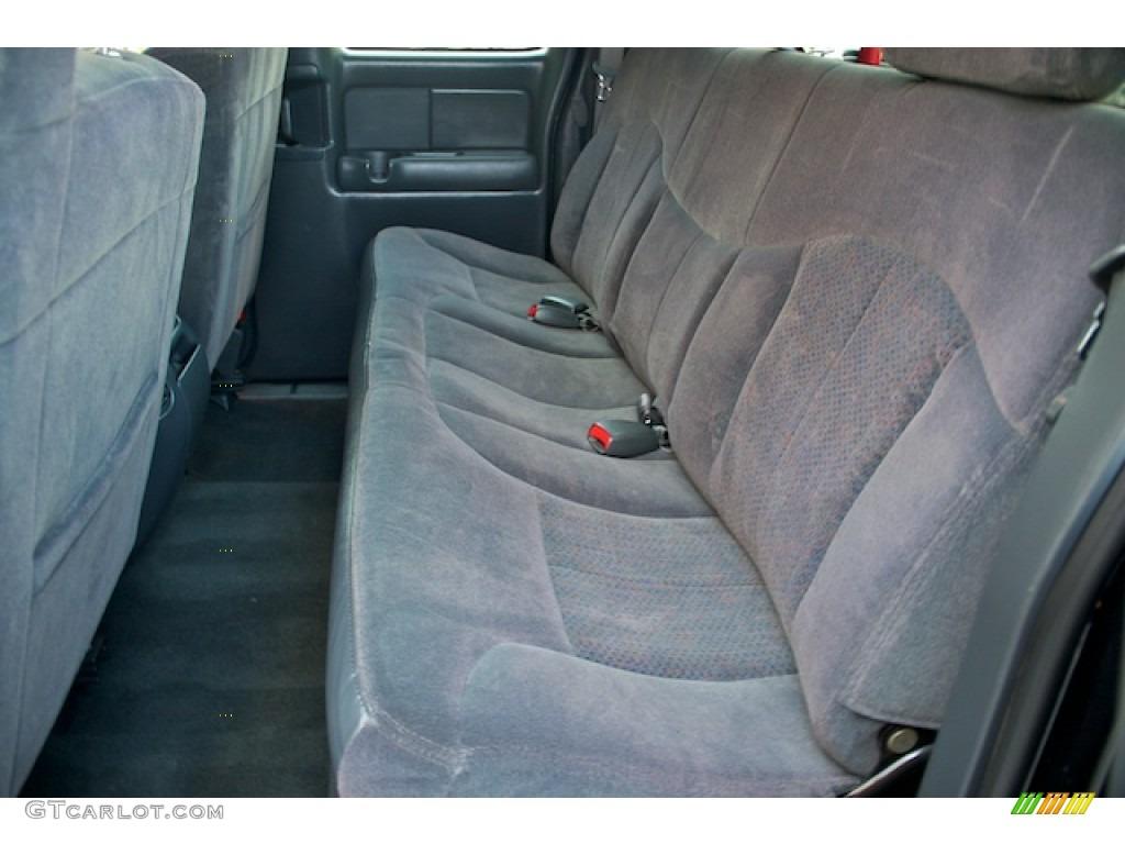 2002 Silverado 1500 LS Extended Cab - Onyx Black / Graphite Gray photo #4