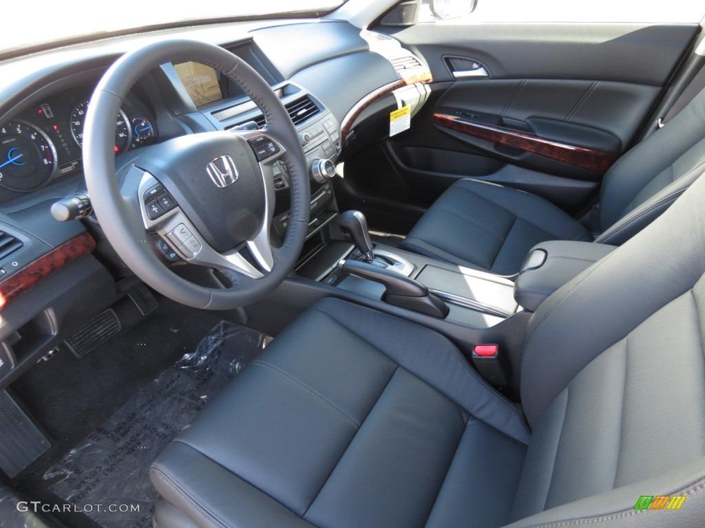 Black Interior 2012 Honda Accord Crosstour Ex L 4wd Photo 63967513