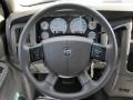2005 Dodge Ram 3500 Taupe Interior Steering Wheel Photo