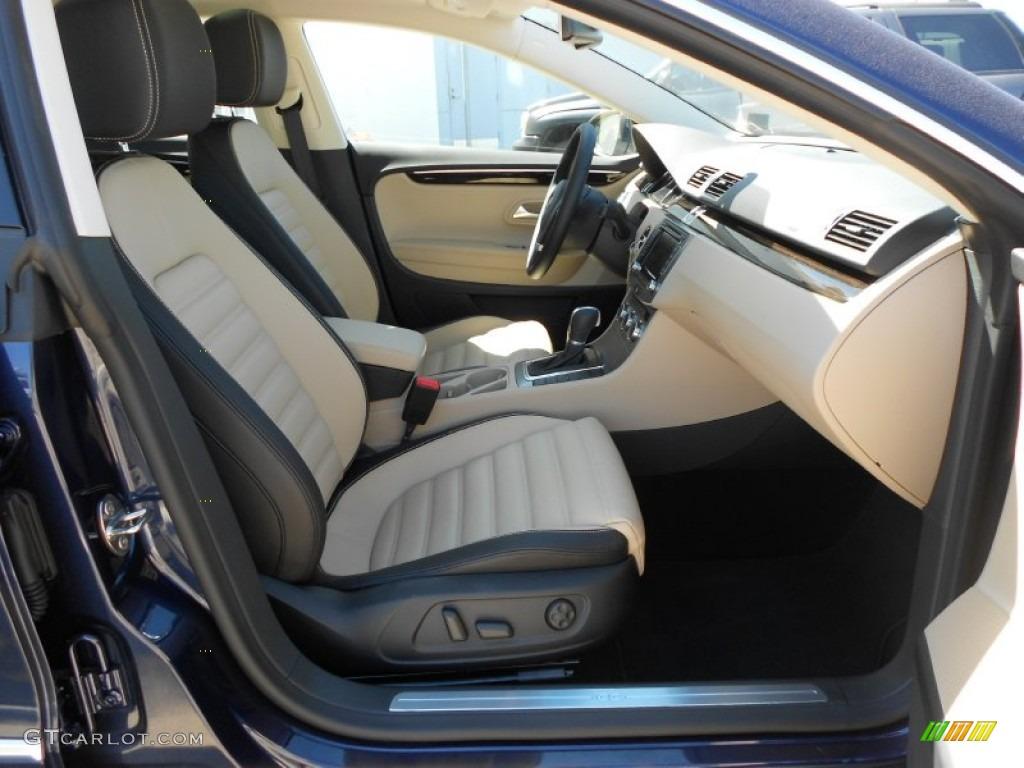 Desert Beige Black Interior 2013 Volkswagen Cc V6 Lux