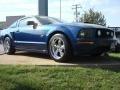2007 Vista Blue Metallic Ford Mustang GT Premium Coupe  photo #6
