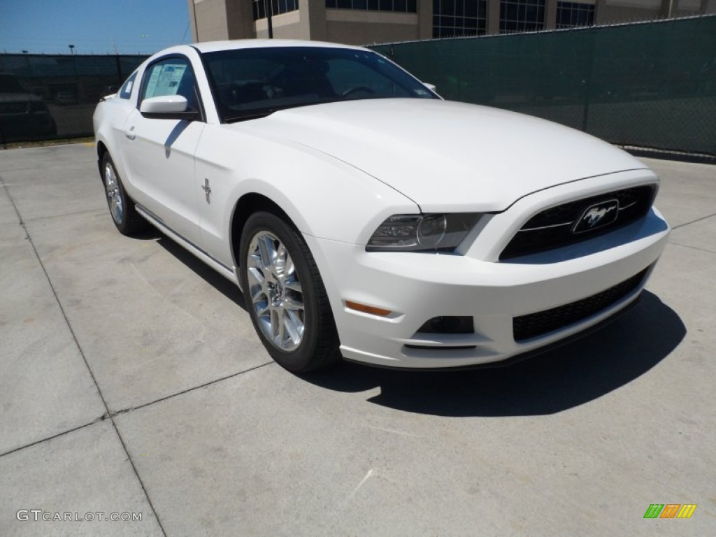 performance white 2013 ford mustang v6 premium coupe exterior photo 64008244. Black Bedroom Furniture Sets. Home Design Ideas
