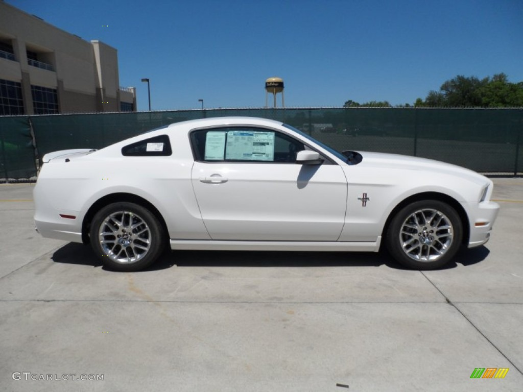 performance white 2013 ford mustang v6 premium coupe exterior photo 64008249
