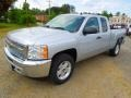2012 Silver Ice Metallic Chevrolet Silverado 1500 LT Extended Cab  photo #2