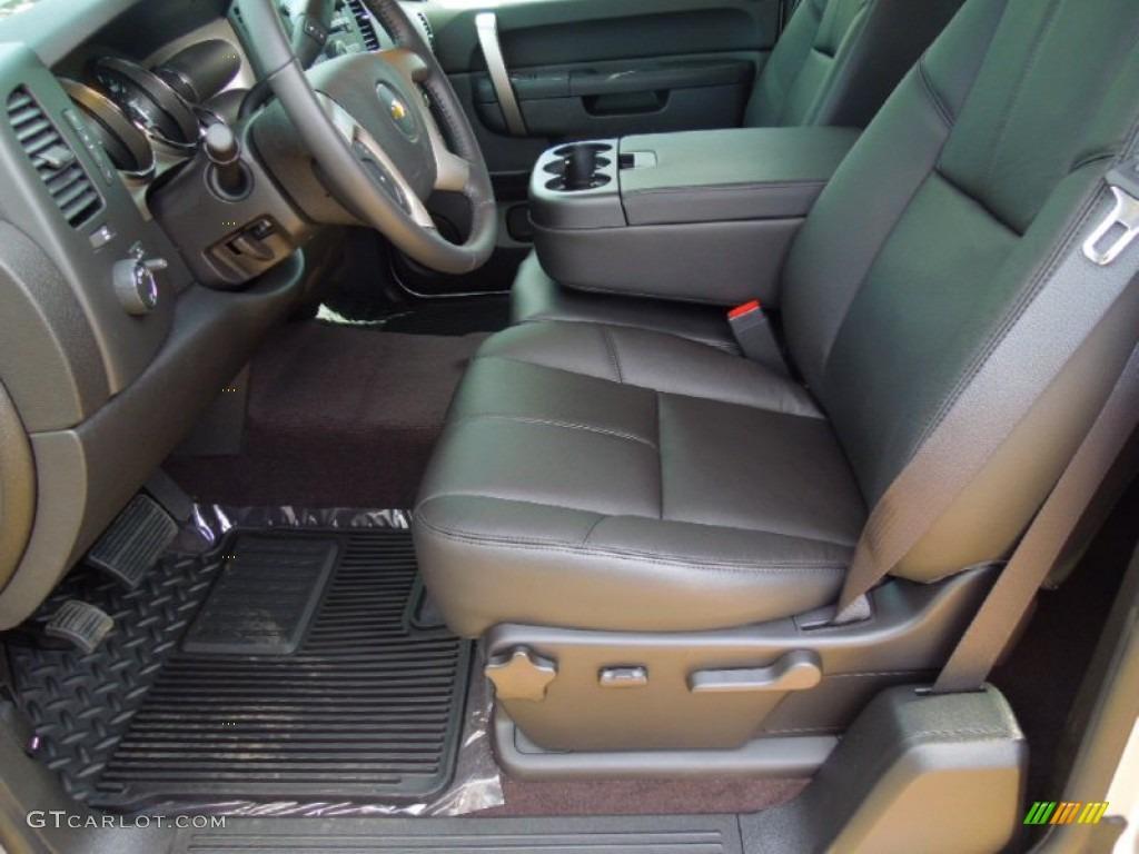 2012 Silverado 1500 LT Extended Cab - Silver Ice Metallic / Ebony photo #8