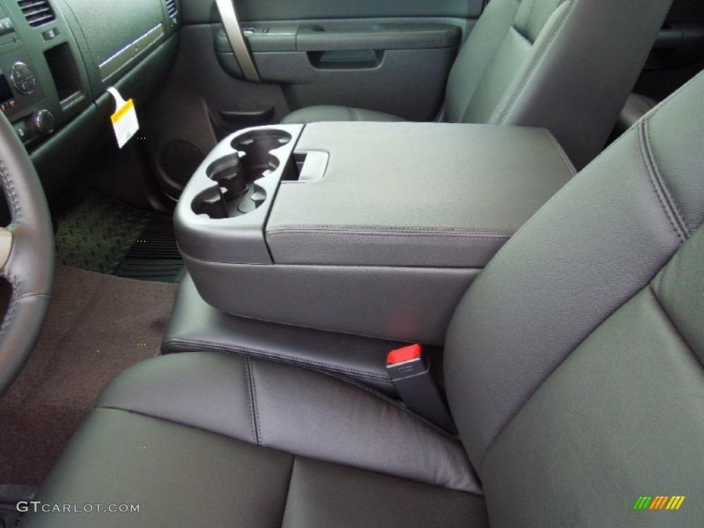 2012 Silverado 1500 LT Extended Cab - Silver Ice Metallic / Ebony photo #9