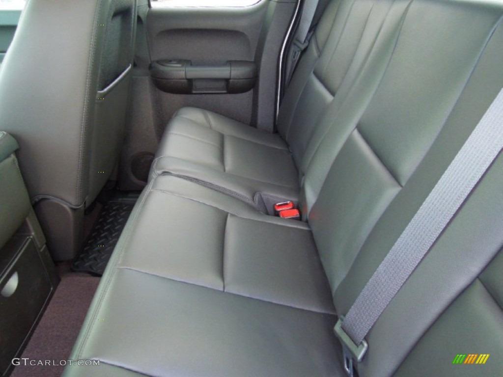 2012 Silverado 1500 LT Extended Cab - Silver Ice Metallic / Ebony photo #15