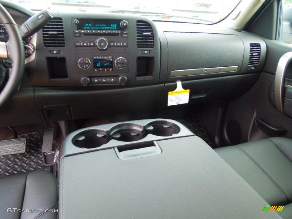 2012 Silverado 1500 LT Extended Cab - Silver Ice Metallic / Ebony photo #17