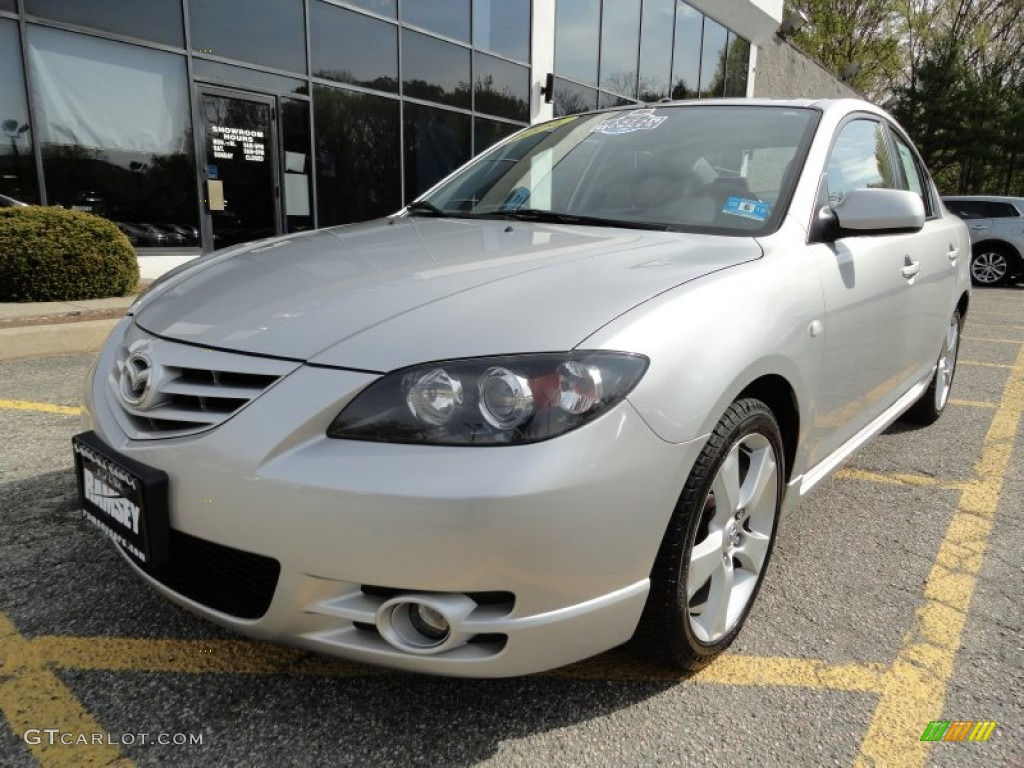 2006 sunlight silver metallic mazda mazda3 s touring sedan. Black Bedroom Furniture Sets. Home Design Ideas