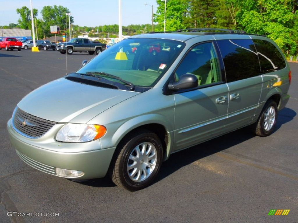 2003 satin jade pearl chrysler town country lxi. Black Bedroom Furniture Sets. Home Design Ideas
