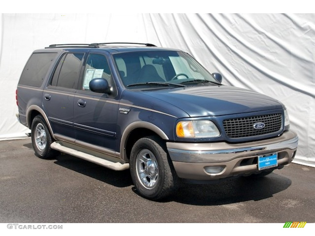 2002 medium wedgewood blue metallic ford expedition eddie bauer 63978030 photo 6 gtcarlot. Black Bedroom Furniture Sets. Home Design Ideas