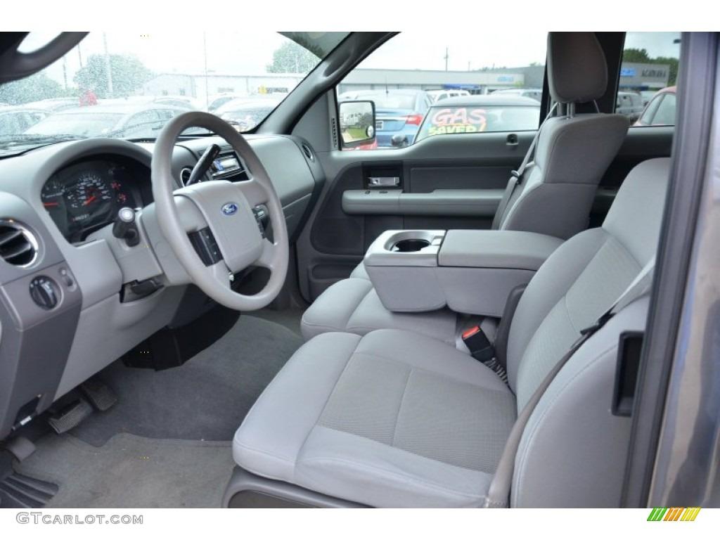 Delightful Medium Flint/Dark Flint Grey Interior 2005 Ford F150 XLT SuperCab Photo  #64024512 Home Design Ideas