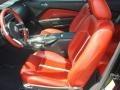 2010 Ford Mustang Brick Red Interior Interior Photo