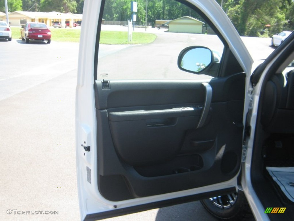 2012 Silverado 1500 LT Crew Cab 4x4 - White Diamond Tricoat / Ebony photo #16