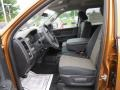 Dark Slate Gray/Medium Graystone 2012 Dodge Ram 1500 Interiors