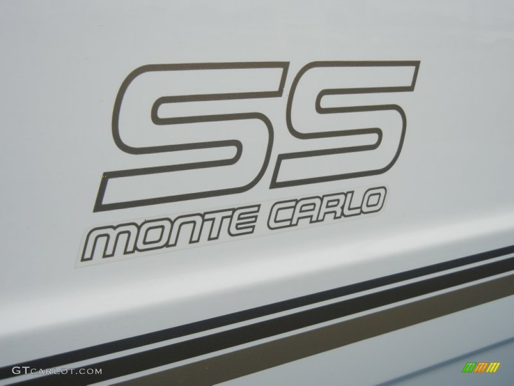 1988 Chevrolet Monte Carlo Ss Marks And Logos Photo