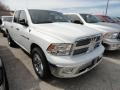 2012 Bright White Dodge Ram 1500 Big Horn Quad Cab 4x4  photo #3