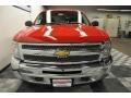 2012 Victory Red Chevrolet Silverado 1500 LS Crew Cab 4x4  photo #5